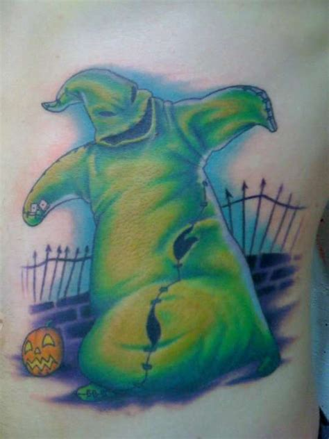 oogie boogie tattoo oogie boogie finished for now lol