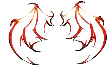 devil wings tattoo designs wings by ladyxiao on deviantart