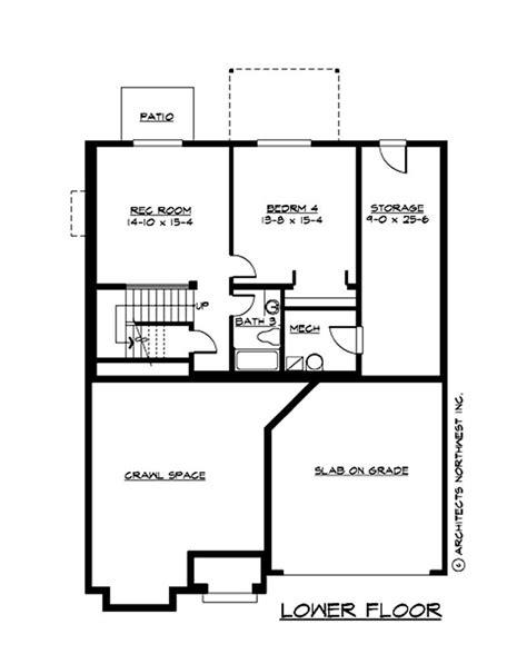 Multi Level Floor Plans Traditional Multi Level House Plans Home Design Cd M2520b3ft 0db 14737