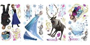 rmk2361scs frozen wall stickers with glitter disney frozen elsa glitter wall decals rosenberryrooms com