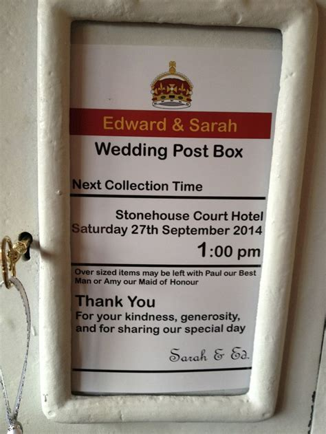 wedding card box sign template pin by nelson on wedding post boxes