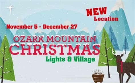 ozark mountain christmas lights village ozark mountain christmas lights village branson shows