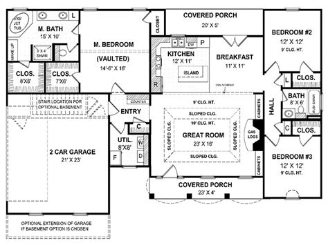 1 story home floor plans one story dream homes small one story house plans one