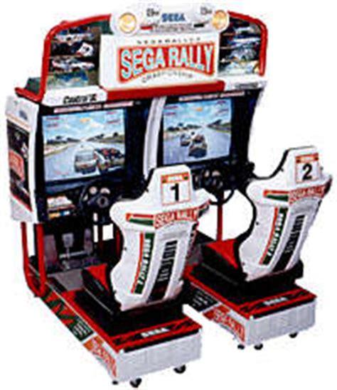 Sega Rally 2 Automat by Sega Rally 2 Chionship Videogame By Sega