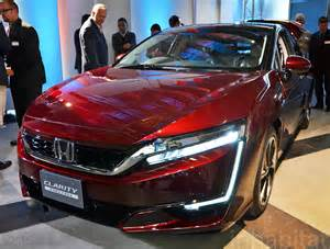 new fuel cell car honda s clarity fuel cell vehicle to hit the streets of