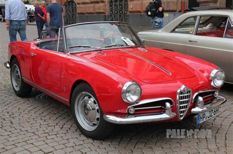 1960s alfa romeo 1961 alfa romeo giulietta spider front view 1960s