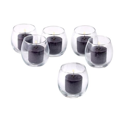 Hurricane Votive Candle Holders Light In The Clear Glass Hurricane Votive Candle