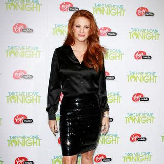 Angie Says Its by Angie Everhart Picture 3 Los Angeles Premiere Of Quot Justin