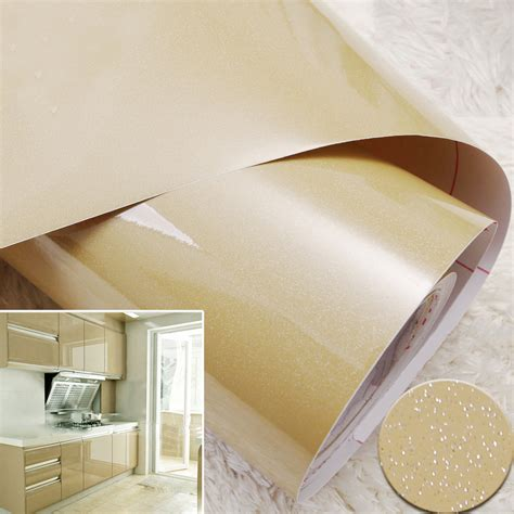 Removable Shelf Liner by Aliexpress Buy Yazi Glossy Chagne Removable Pvc