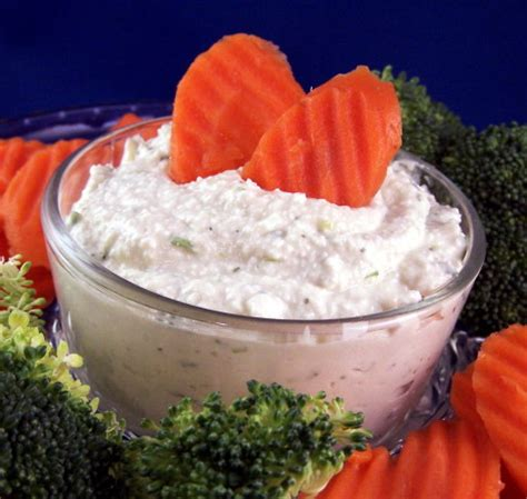 cottage cheese dip cottage cheese dill dip recipe food