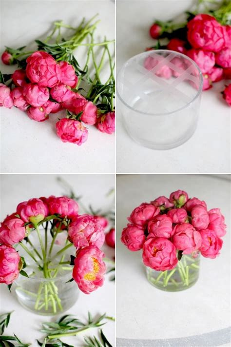 flower arrangements diy diy flower arrangement peonies 3 ways floral