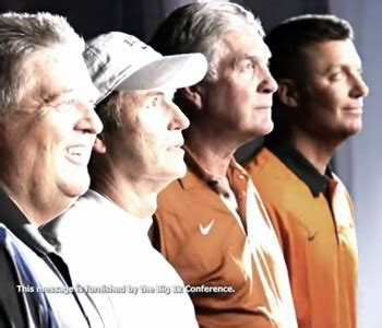 sec fans react to cheesy commercial with big 12 coaches