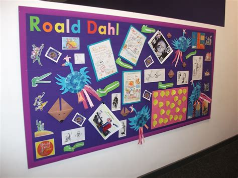 Fantastic Factory 14 great bulletin board for roald dahl week brilliant