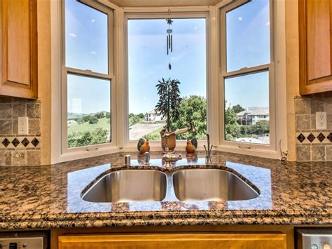 kitchen bay window sink kitchen bay windows sink steel with window ideas