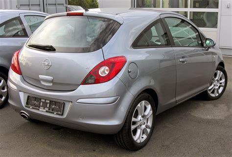Opel Corsa D by File Opel Corsa D 20090726 Rear 1 Jpg