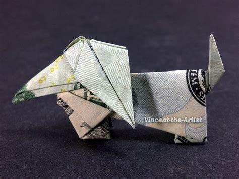 Origami Weiner - weiner dollar origami comot