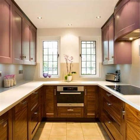 U Shape Kitchen Designs 19 Practical U Shaped Kitchen Designs For Small Spaces