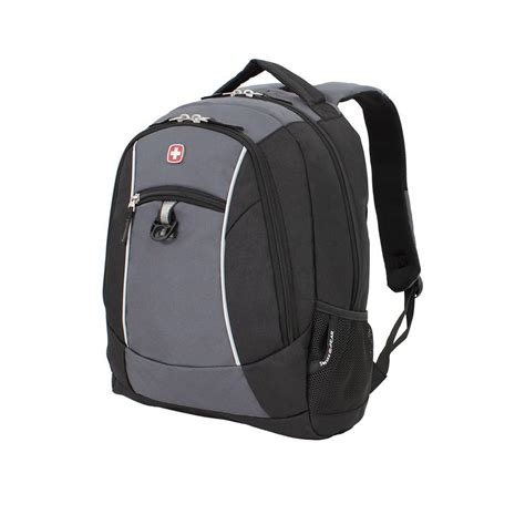 swissgear 18 in black and grey backpack 6719204406 the