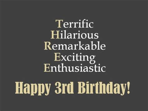 3 Year Birthday Quotes 3rd Birthday Messages And Poems To Write In A Card Holidappy
