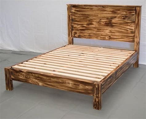 modern platform bed casual cottage torched farmhouse platform bed w headboard traditional
