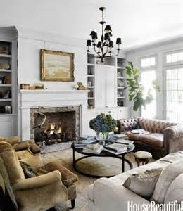 house beautiful living rooms decorating with leather the new sofa the inspired room