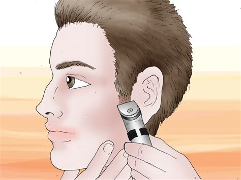 how to trim your hair for males how to cut your own hair men 13 steps with pictures