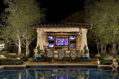 backyard bar designs backyard cabana design landscaping network