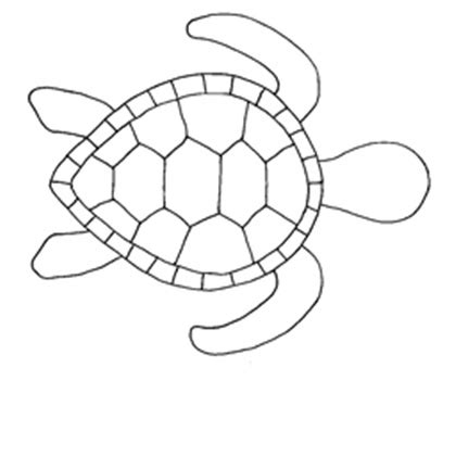 mosaic turtle coloring page turtle template connor pinterest turtles and templates