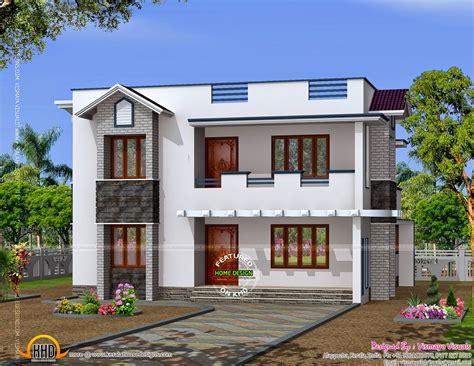 simple design home kerala home design  floor plans