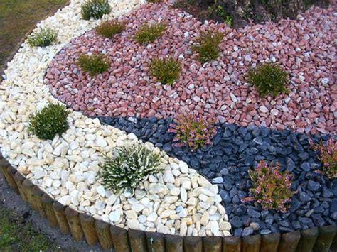 decoracion de jardin con piedras decoracion actual de moda jard 237 n de piedras espectacular