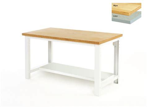 bench depth bench with half depth shelf adjustable height csi products