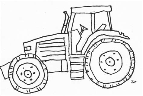 coloring pages tractor printable tractor coloring pages coloring home