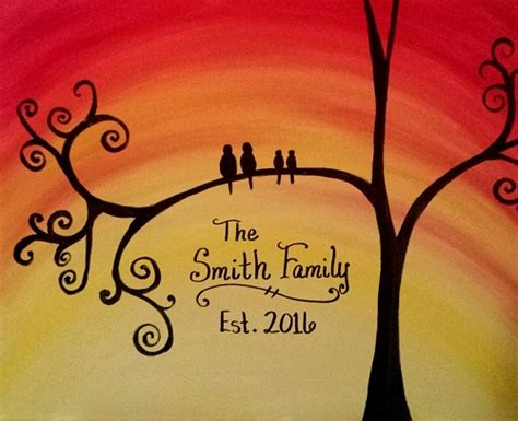 paint nite for families paint nite established family tree