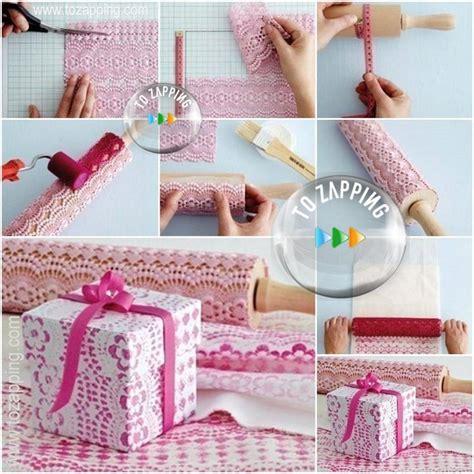como decorar una caja de carton regalo decorar cajas de cart 243 n con encaje tozapping