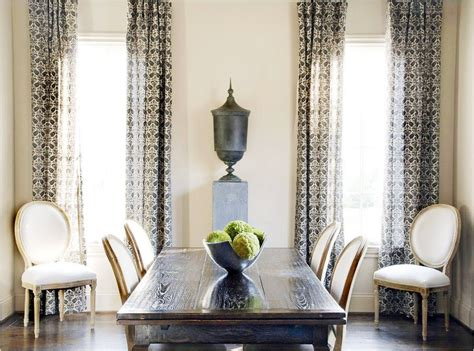 decorating ideas dining room with curtains room