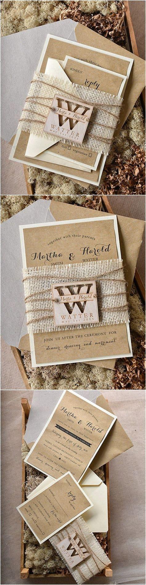 Printed Wedding Invitations by Printed Burlap Wedding Invitations Www Imgkid The