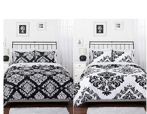 black and white twin comforter set black white bedding fun fashionable home accessories