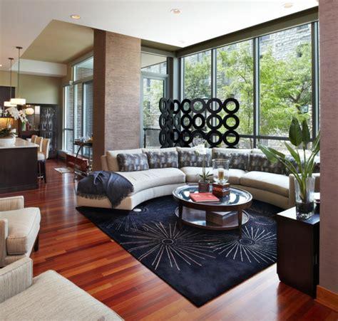 wohnideen offener wohnbereich wohnzimmer modern einrichten 59 beispiele f 252 r modernes