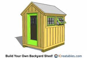 6x8 wood greenhouse shed plans 6x8 shed plans