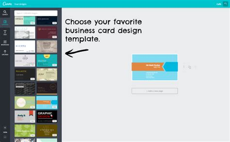 Canva Business Card