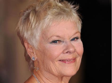show back of judy dench hairstyle printable judy dench haircut short hairstyle 2013