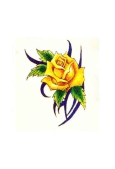 yellow rose of texas tattoo yellow tats from itattooz
