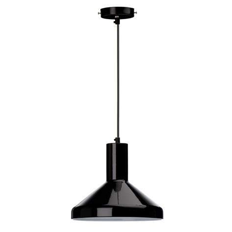 Black Metal Pendant Lights Pendant Light Black Metal Astral Lighting Ltd
