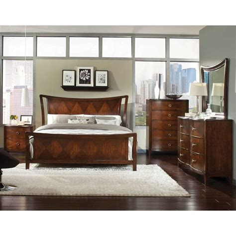bedroom furniture set park avenue international furniture 6 king bedroom set