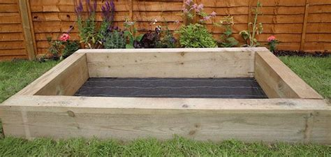 Wooden Sleepers Wickes by How To Build A Sandpit Wickes Co Uk