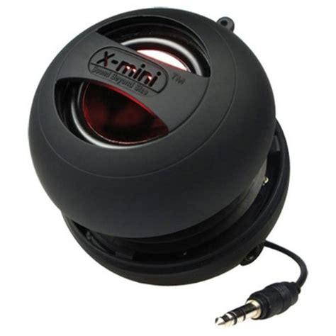 x mini 1 1 travel speaker model xam8 b in black electronics thehut