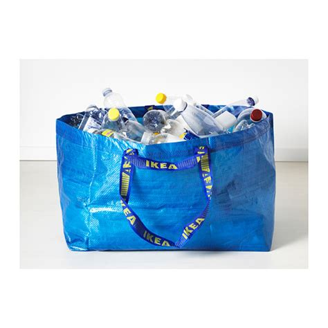 Frakta Shopping Bag | 10 ikea frakta large shopping bag blue laundry tote grocery eco reusable ebay