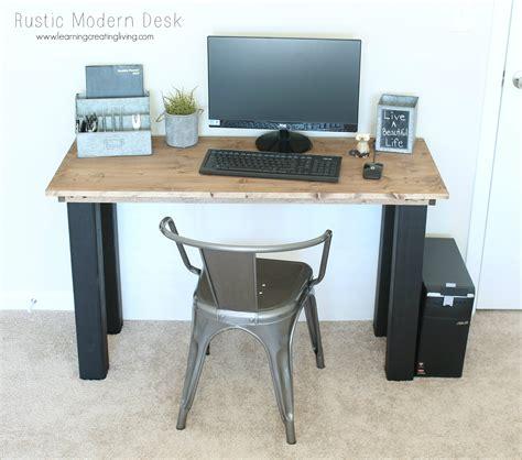 Rustic Modern Desk Rustic Modern Desk Katelyn Chantel