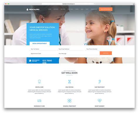 20 best three column wordpress themes 2018 colorlib nice dentist website template pictures inspiration
