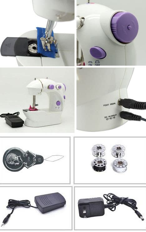 Mesin Jahit Portable Sewing Machine 4 In 1 T1310 portable compact mini sewing machine 4 in 1 as seen on tv 11street malaysia sewing machine